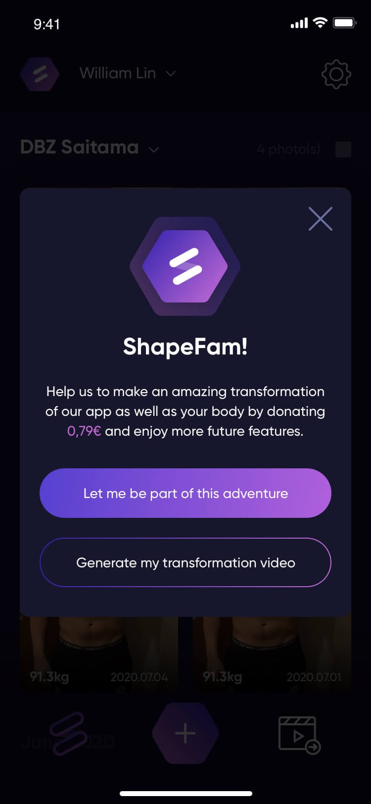 Start.it x Shape APP