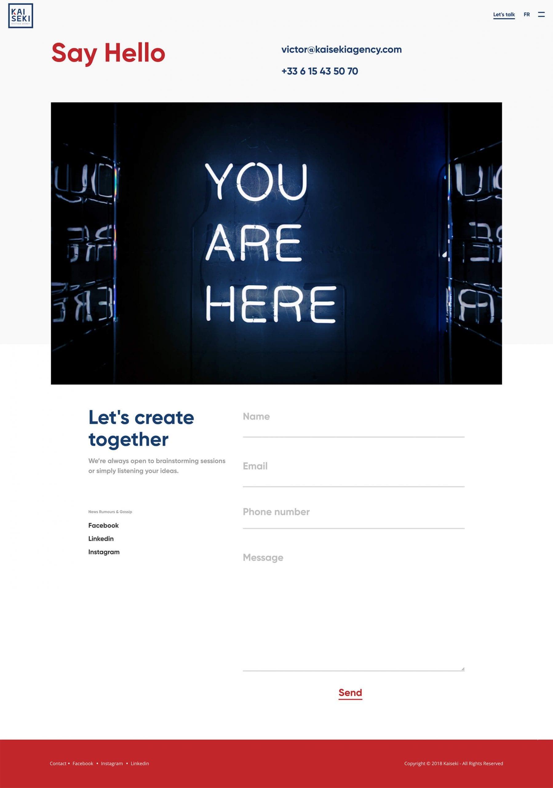 Start.it x Kaiseki Agency